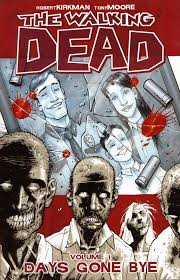 A cover of the Walking Dead comic book.  If you're familiar with the show, you will recognize that family portrait.
